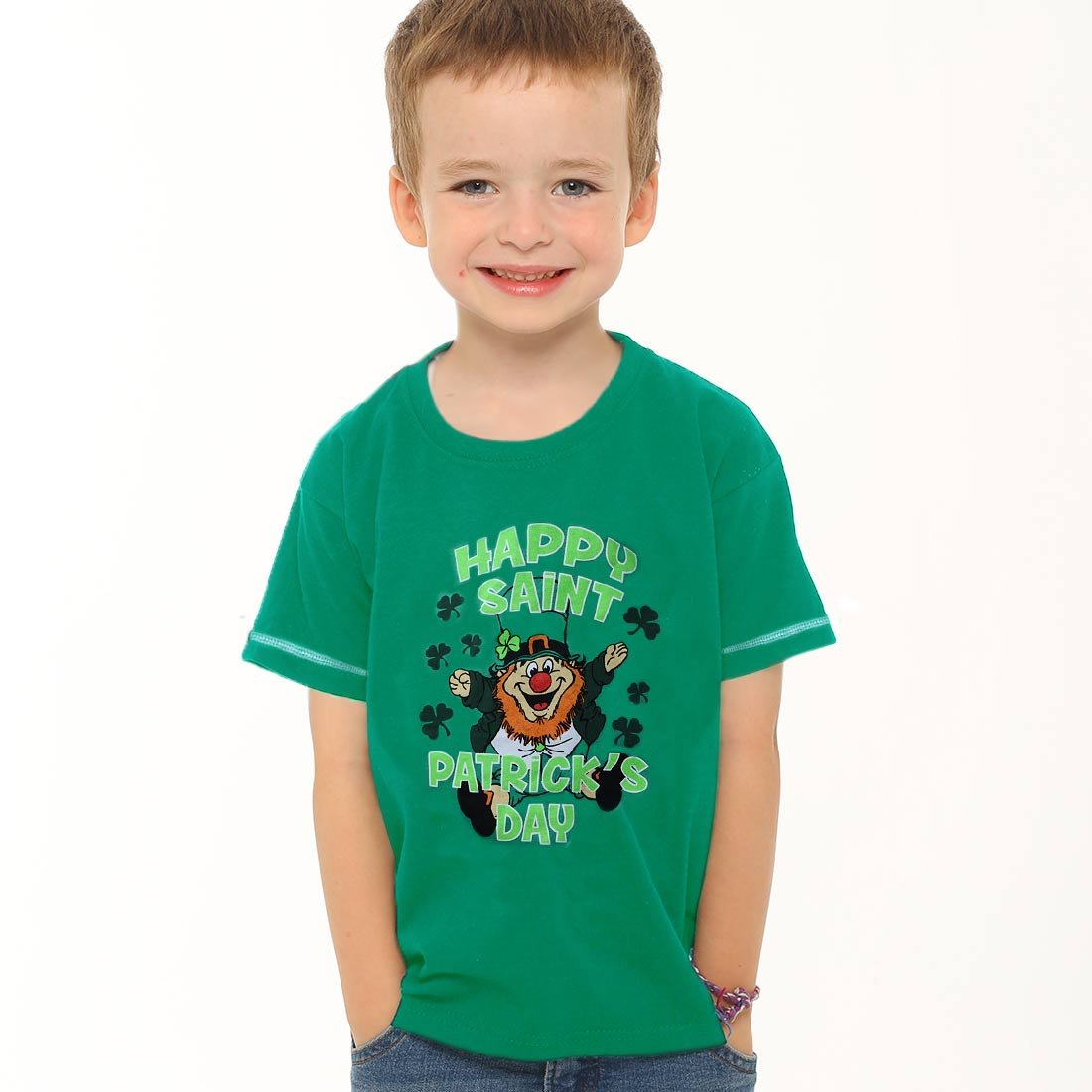 Twisted Envy St Patricks Day Clover 2017 Women/'s Funny T-Shirt