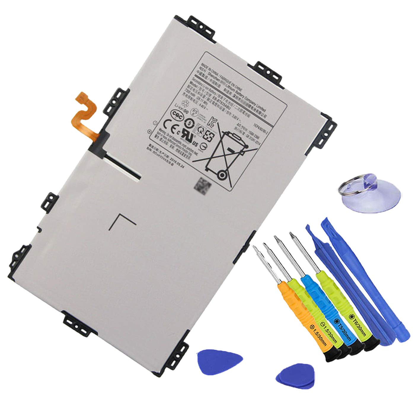 Bateria Tablet EB-BT835ABU Galaxy Tab S4 10.5 SM-T830 T835 S