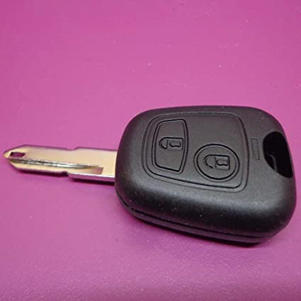 Carcasa + llave estándar para 106/206/306/C1/C2/C3/C4 ...