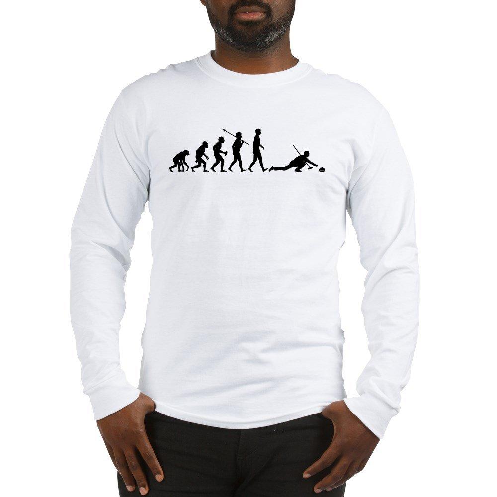 99cb6d91c3 CafePress - Curling - Unisex Cotton Long Sleeve T-Shirt: Amazon.ca: Clothing  & Accessories