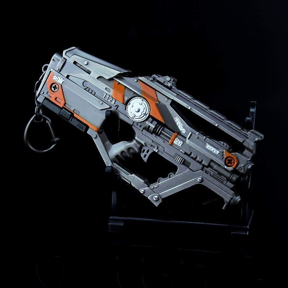 APEX Legends Games 1//6 Metal L-Star EMG Machine Gun Keychain Weapons Model Actio