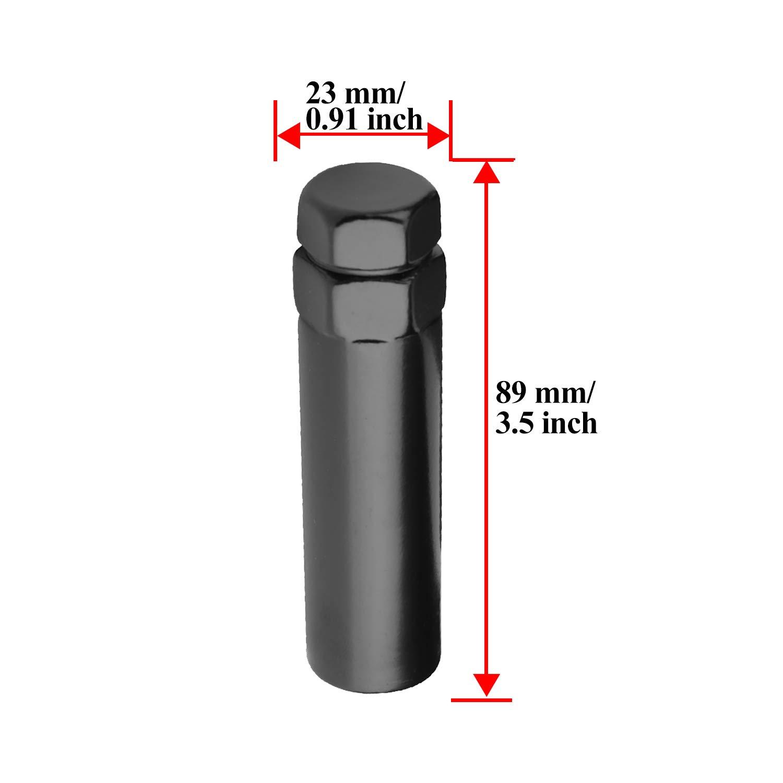"19MM Thread Size LDlighting 7 Point Spline Tuner Lug Nut 3.5/"" Long Socket Key 13//16/"""