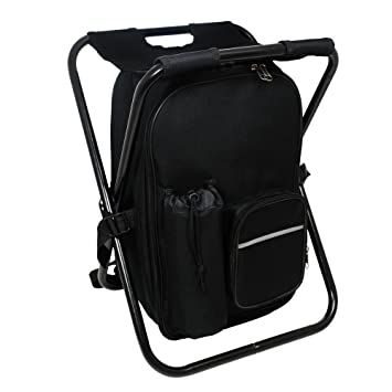 Amazon.com  Cathy s Concepts Tailgate Backpack Cooler Chair  Home ... 345b797720f71