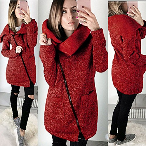 Jacket Invernale Invernale Cappotto Outwear Giacca Vintage Donna zOqxa