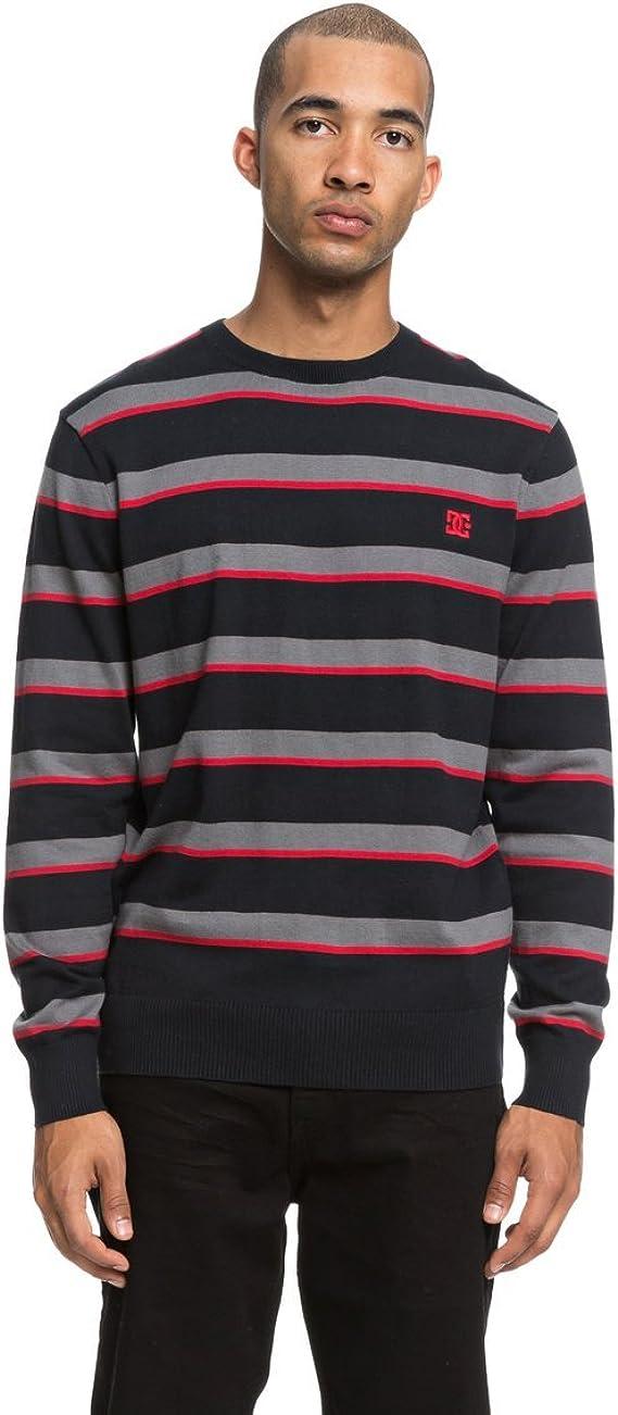 TALLA L. DC Shoes Sabotage Stripe - Jersey para Hombre EDYSW03034