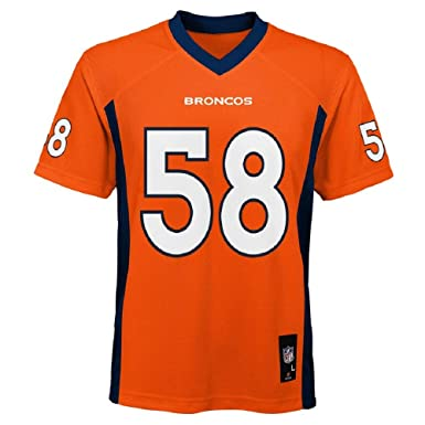 d0d148521 Amazon.com  Von Miller Denver Broncos NFL Kids Orange Home Mid-Tier ...