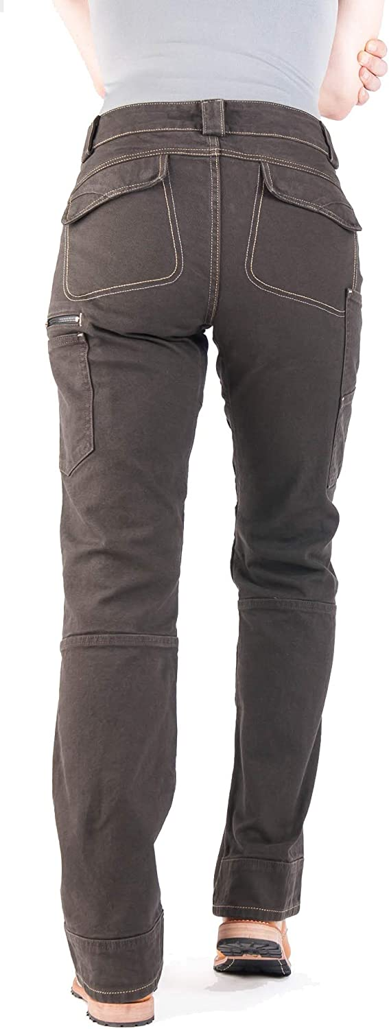 Day Construct Relaxed Fit Durable Stretch Canvas Cargo Pant Dovetail Workwear Utility Pants for Women