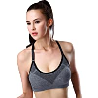 HARRYSTORE Sport BH Mujer sosténes Deportivas de Yoga cómoda y elástico Ropa Interior Push Up Camisetas sin Mangas para…