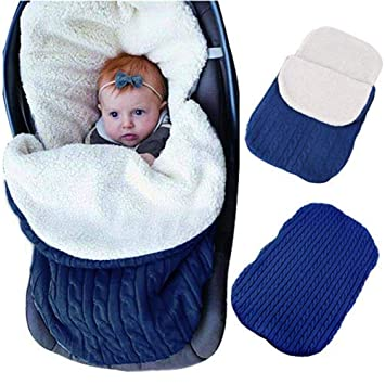 FNBABY Bebé Recién Nacido Swaddle Blanket Wrap Plus Terciopelo Saco De Dormir Infant Toddler Warm Fleece