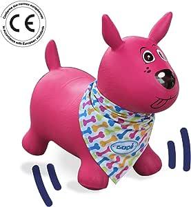 Ludi 2777 - Rose Mon Chien Sauteur Cachorro inflable, Rosa: Amazon ...