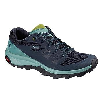 Salomon Outline GTX Shoes Women TrellisNavy BlazerGuacamole Schuhgröße UK 9,5   EU 44 2019 Schuhe