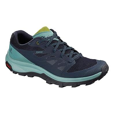 separation shoes d912f c9bc4 Salomon Outline Gore-TEX Women s Walking Shoes - SS19-4 Blue