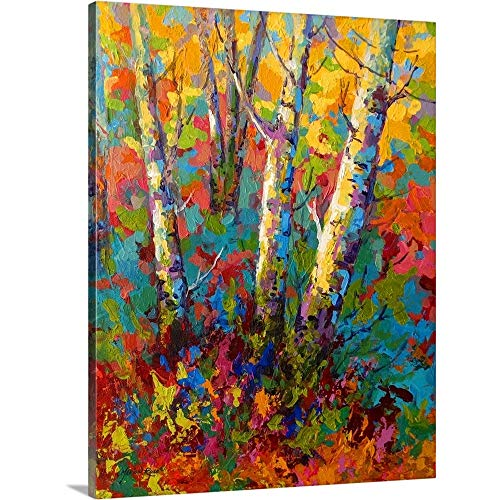 Marion Rose Premium Thick-Wrap Canvas Wall Art Print entitled Abstract Autumn II 30\