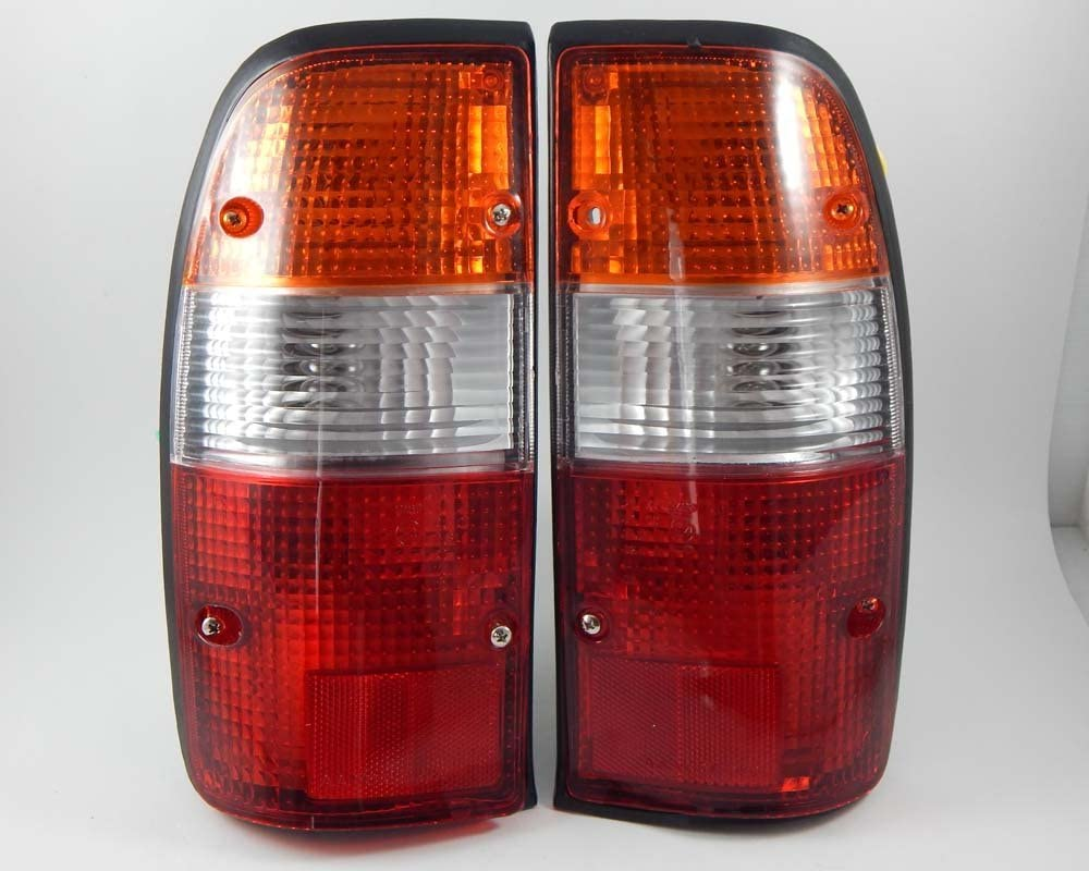 Pair Of Rear Combination Tail Light Lamp Lenses Only LH And RH