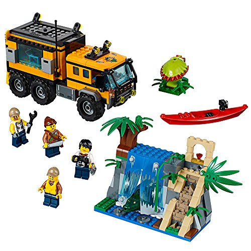 (LEGO City Jungle Explorers Jungle Mobile Lab 60160 Building Kit (426)