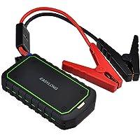 VicTsing Arrancador Coche Multifuncional con Batería Externa 12000mAh 400A portatil con Linterna LED(1A y 2.4A USB de…