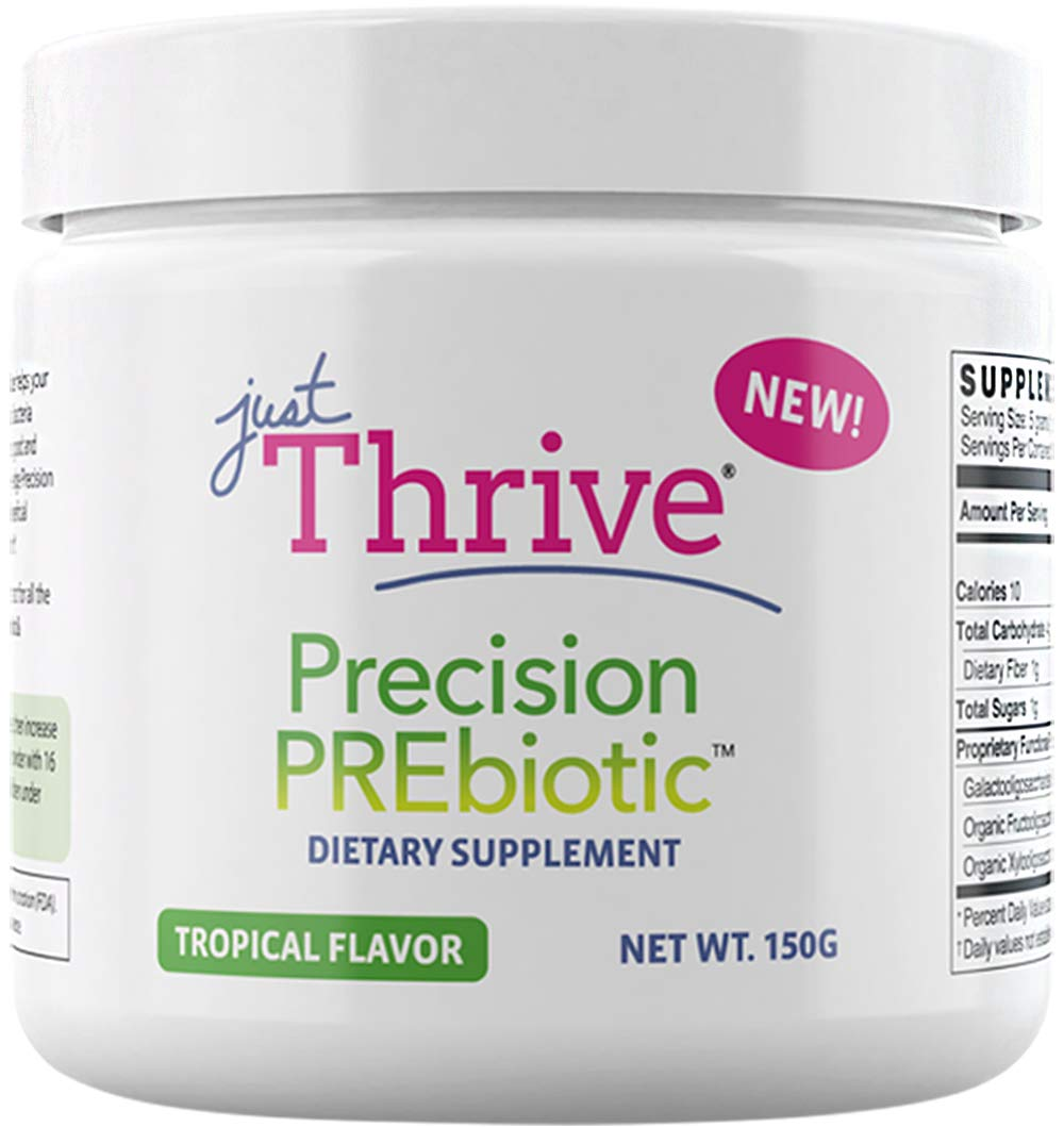Just Thrive: Precision PREbiotic - Gastrointestinal, Cardiovascular, Immune Support - 30 Day Supply - Improve Probiotic Diversity - Promote Optimal Digestive & Gut Health