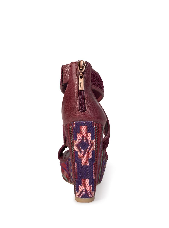 The Sak Women's Mason Wedge Sandal B00CXMJ3OM 10 B(M) US|Wine Tribal