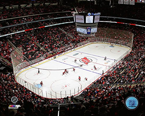 Prudential Center New Jersey Devils Nhl Action Photo  Size  8  X 10