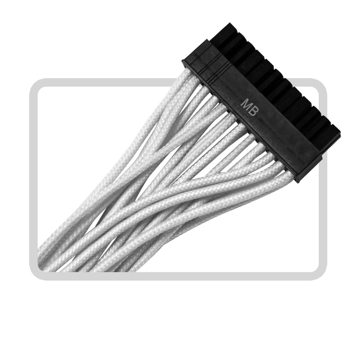 EVGA G2/G3/P2/T2  100-CW-1300-B9 Power Supply Cable Set (Individually Sleeved), White by EVGA (Image #8)