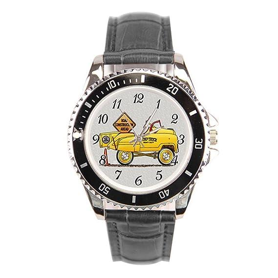 backdesert para hombre barato Relojes de pulsera. Tractor niños juguetes Vintage reloj de pulsera: Amazon.es: Relojes