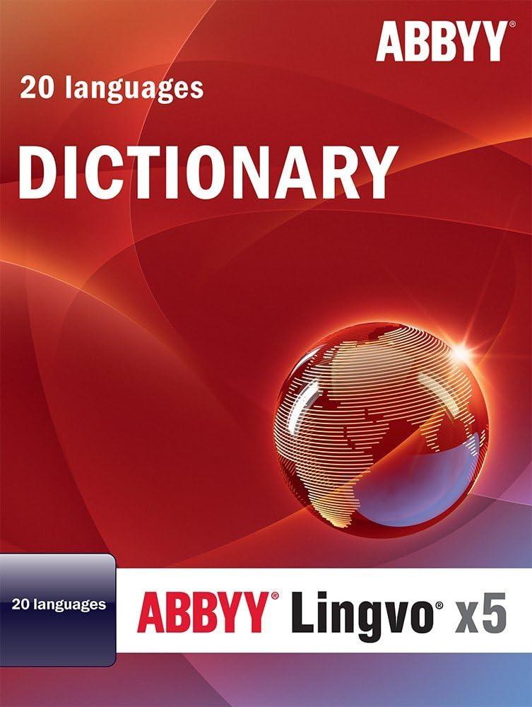 Abbyy Lingvo X5 Professional Edition 20 Languages