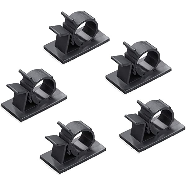 Sujeta Cables, JTDEAL Clips de Cable Ajustable (50pcs), Nylon ...