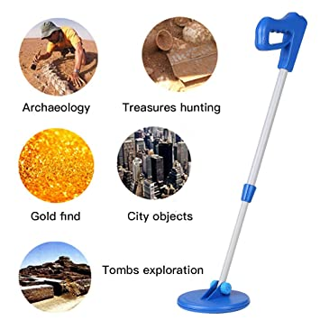 QUARK Ligero subterráneo Detector de Metales Tesoro Cazador de Oro para los niños como niños Regalo de Juguete búsqueda de Cazador de Tesoros Gold Digger: ...