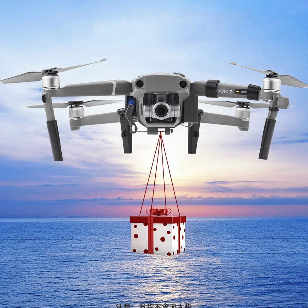 Dispositif de largage et de largage pour Drone Zoom DJI Mavic 2 Pro et DJI Mavic 2 Clip de Drone Dispositif de Transport de Livraison de Charge utile Drone de Mariage App/âts de p/êche