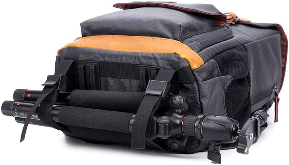Laptop and Other Digital Camera Accessories,A MUJING Retro Camera Backpack Waterproof Canvas DSLR Camera Bag for 1 DSLR 4xLens New Version