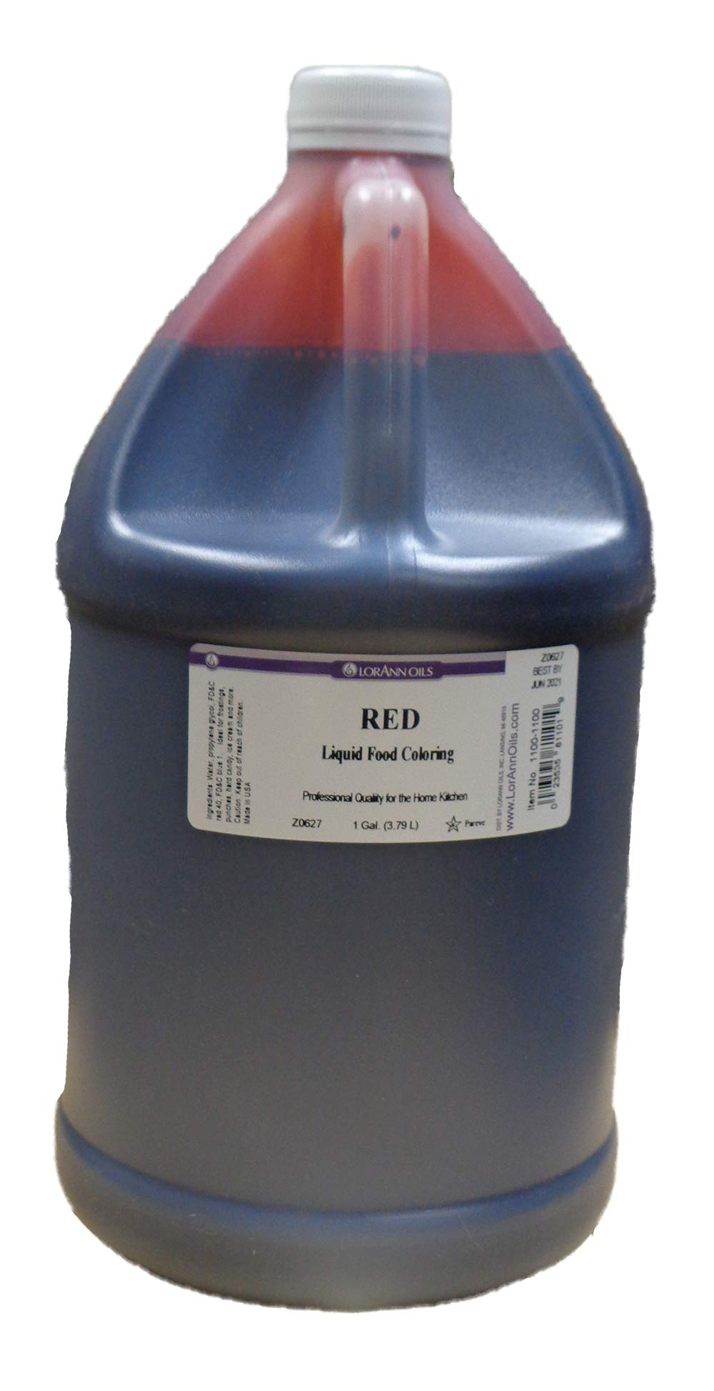 LorAnn Red Food Coloring, Gallon Size by Unknown