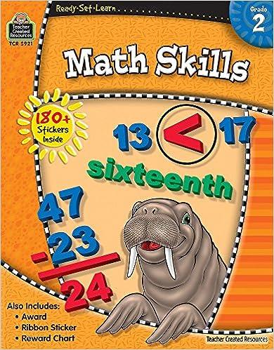 Ready-Set-Learn: Math Skills Grade 2: Teacher Created Resources ...