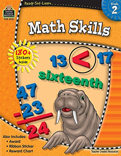 Ready-Set-Learn: Math Skills Grade 2 (Boxed Set Math)