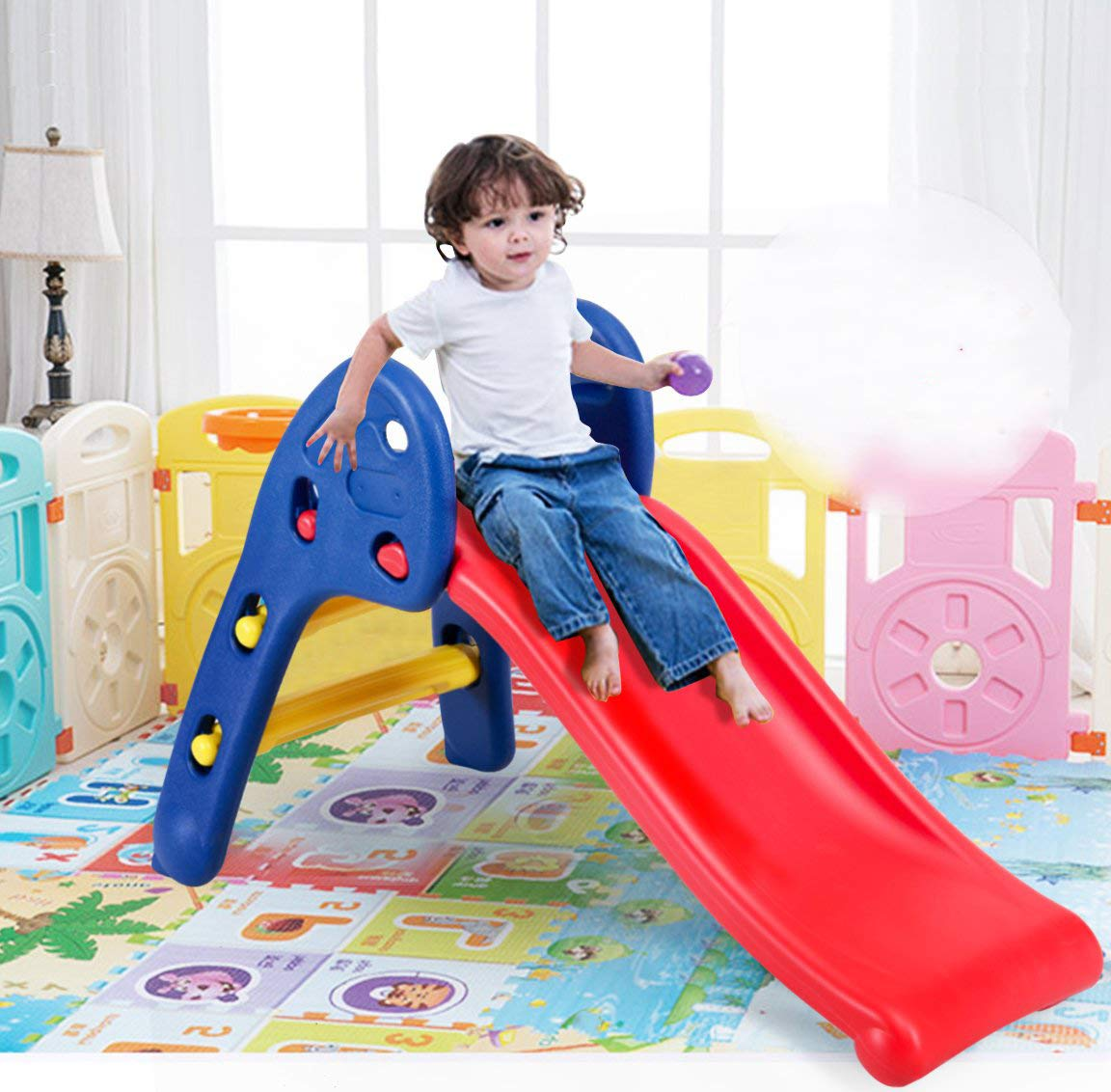 Webby Foldable Baby Garden Slide for Kids