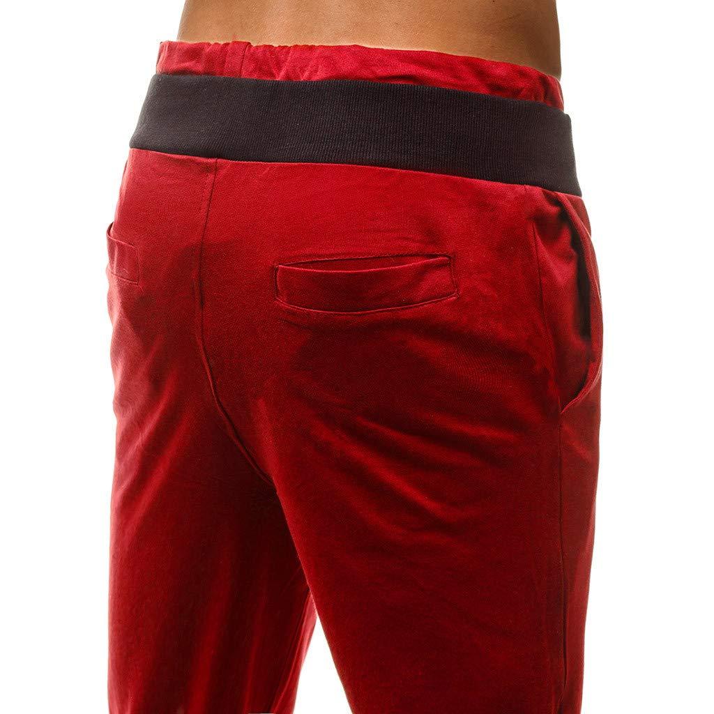 Pantalones Cortos de los Hombres de los Deportes Pantalones para Hombre Deportes Bolsillos Holgados pantal/ón Deportivo Casual Bermuda Jogging Bolsillos Deportivo Subfamily