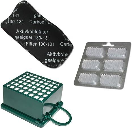Filtro ODORI aspirapolvere Folletto VK 130 131 KIT Filtro HEPA