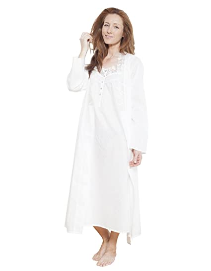 Cyberjammies 1214 Women s Nora Rose White Solid Colour Dressing Gown  Loungewear Bath Robe Robe 8 f81e0d7f0
