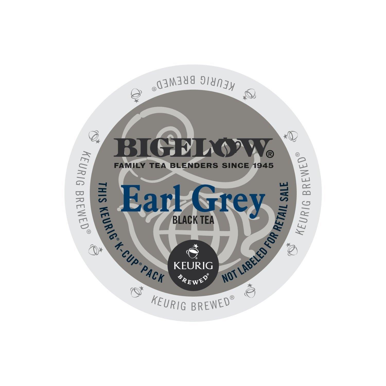 Bigelow Earl Grey Tea, 24-Count K-Cup Portion Pack for Keurig Brewers by Bigelow Tea