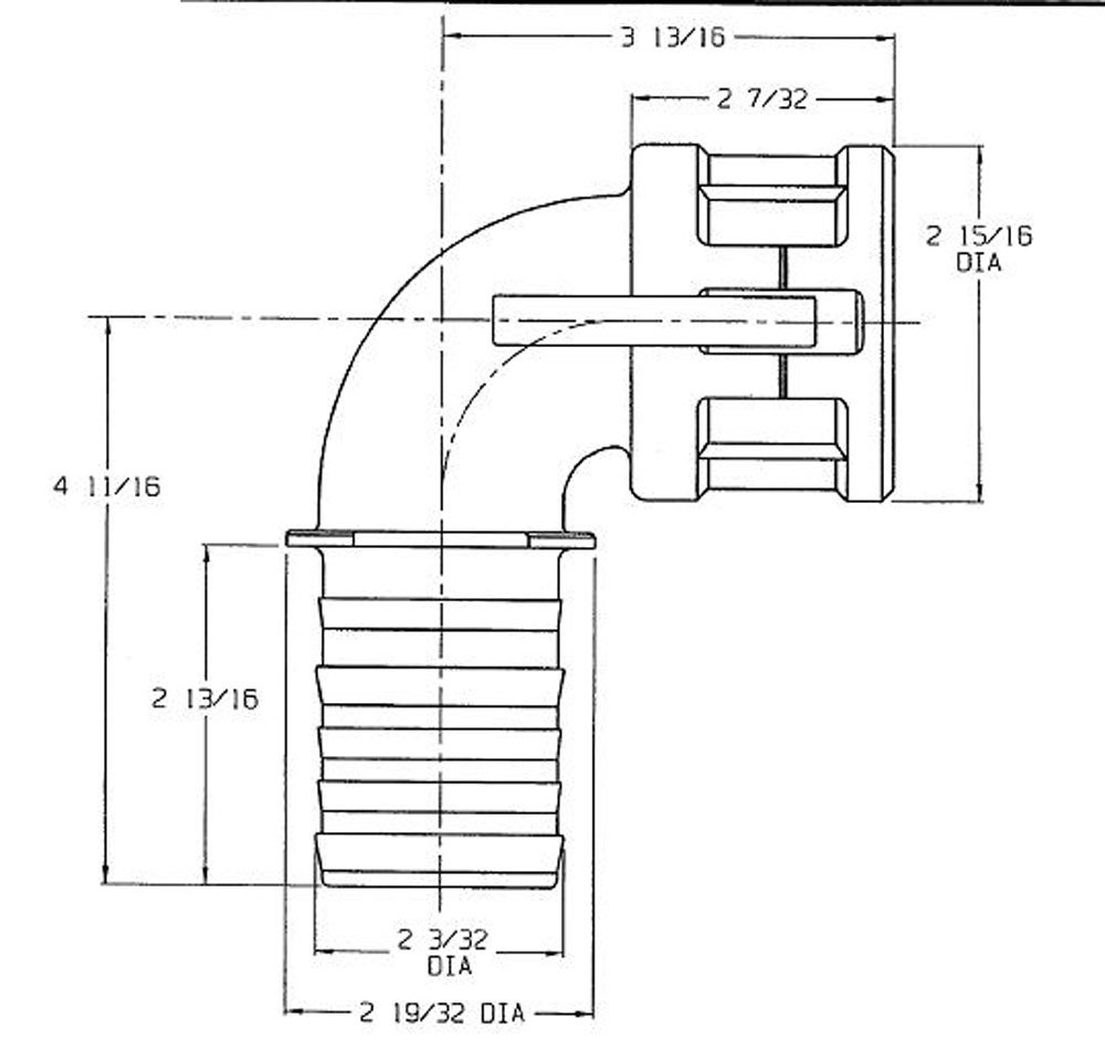 3 Socket x 3 Hose ID Barbed 3 Socket x 3 Hose ID Barbed Dixon Valve /& Coupling Dixon 300C-90SS Stainless Steel 316 Type C Cam and Groove Hose Fitting 90 Degree Elbow