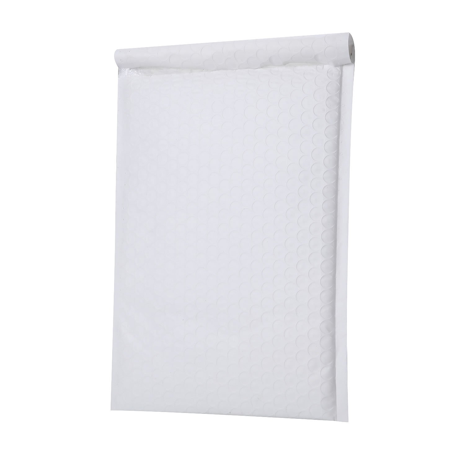 PackaPro #0 Poly Self-Seal Bubble Mailer 6X10 Special Extra Wide (actual size 7X10) Padded Envelopes Pack of 50 - White