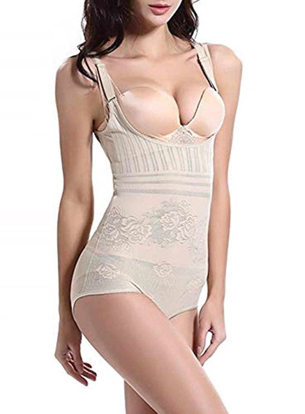 Acexy Shapewear Underwear Waist Butt ShaperBust Shapewear Firm Control Bodysuit for Women