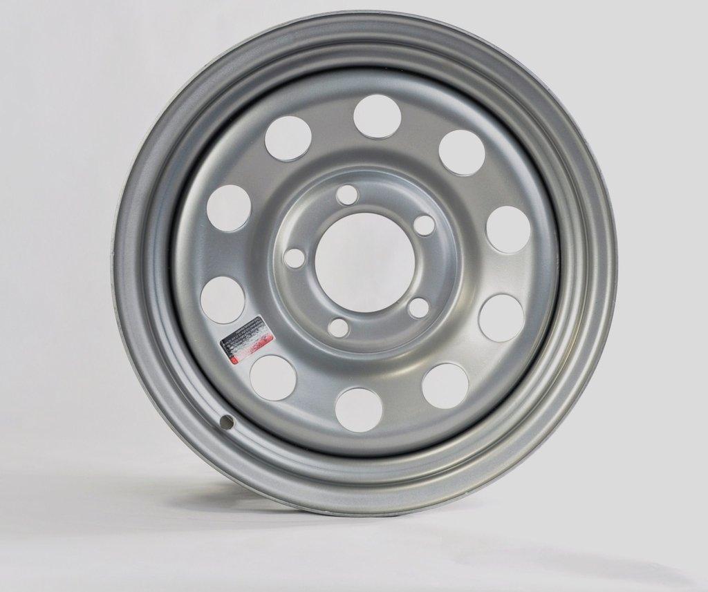 eCustomRim Trailer Rim Wheel 14'' x 5.5'' 5 Lug Hole Bolt Wheel Gray Grey Modular Design by eCustomRim (Image #1)