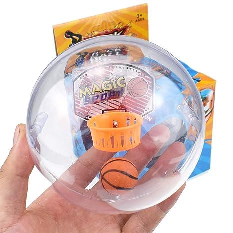 Mini juegos de pelota de baloncesto para juegos de mano con luz y ...