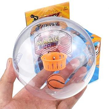 homese Mini juegos de pelota de baloncesto para juegos de mano con ...