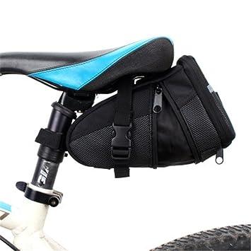 LLTS Tapa de Bicicleta Tapa de Bicicleta de Montaña Bolsa de Sillín Bolsa de Maletero Plegable
