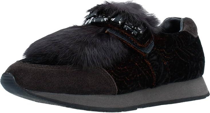 Abrazadera Manía Floración  Calzado Deportivo para Mujer, Color marrón, Marca ALMA EN PENA, Modelo  Calzado Deportivo para Mujer ALMA EN PENA I17460 Marrón: Amazon.es: Zapatos  y complementos