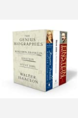 Walter Isaacson: The Genius Biographies: Benjamin Franklin, Einstein, and Steve Jobs Paperback