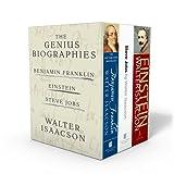 Walter Isaacson: The Genius Biographies: Benjamin Franklin, Einstein, Steve Jobs