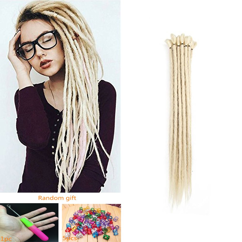 Amazon Aosome 20strands Dreadlocks Extensions 100 Handmade