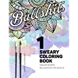 Sweary Coloring Book: Swear Words Relaxation for Adults with Mandalas & Paisley Designs
